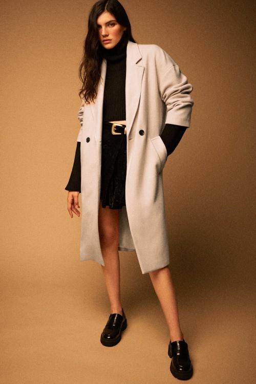 Zara - manteau en coton