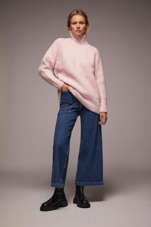 Zara - Pull en maille oversize