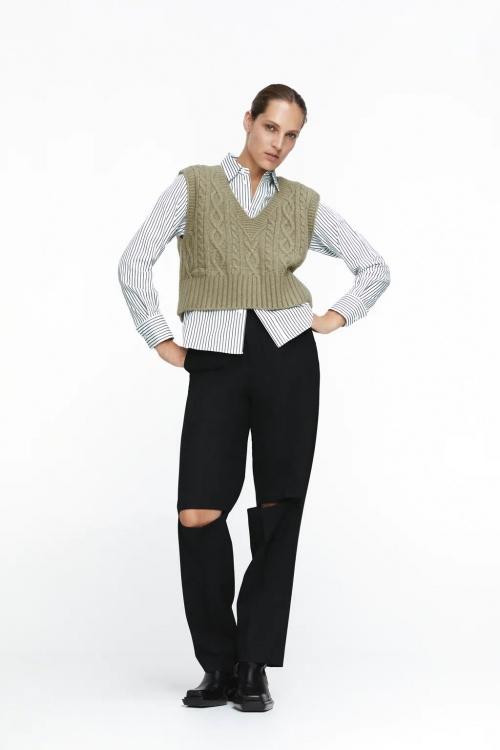 Zara - Gilet sans manches