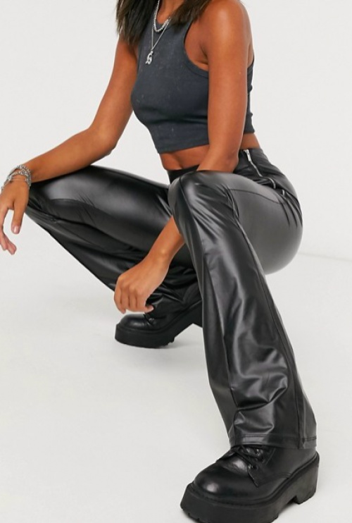 Bershka - Pantalon évasé