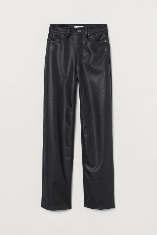 H&M - Pantalon cuir souple