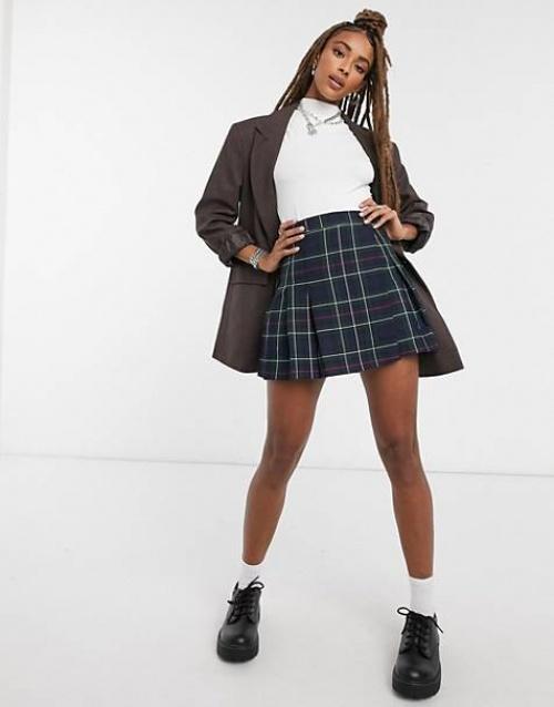 ASOS DESIGN - Mini jupe à carreaux