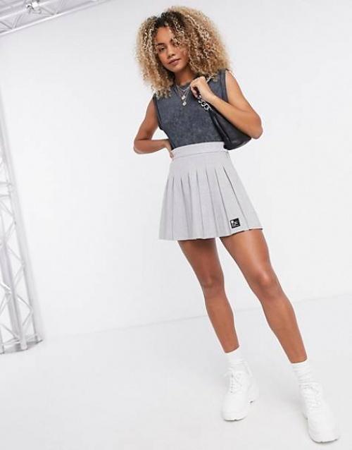 Bershka - Mini jupe plissée
