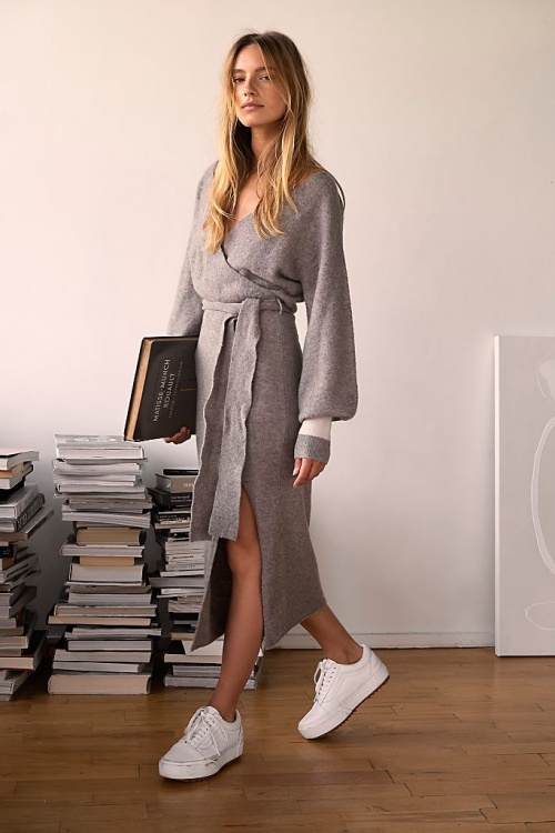 Free People - Robe en maille