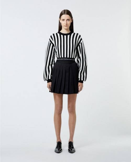 The Kooples -  Mini jupe plissée