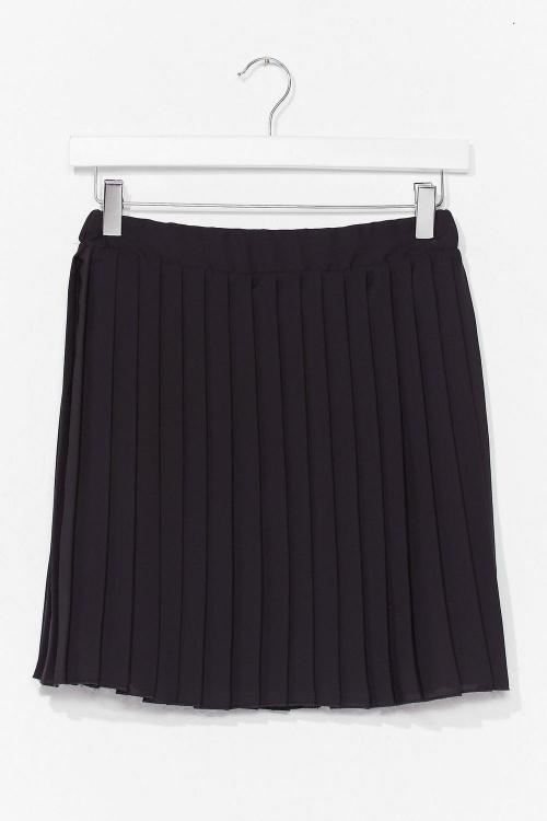 Nasty Gal - Mini jupe plissée
