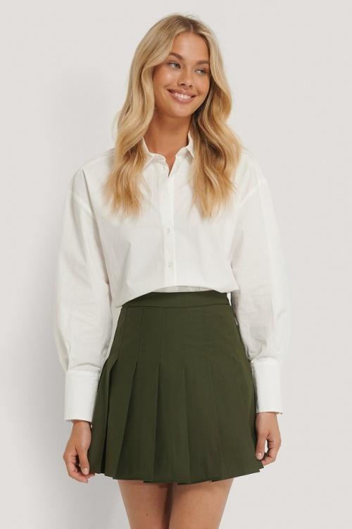 Romy x Na-kd - Mini jupe plissée