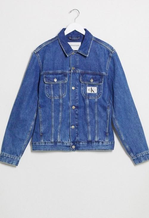 Calvin Klein Jeans - Veste en jean style 90's