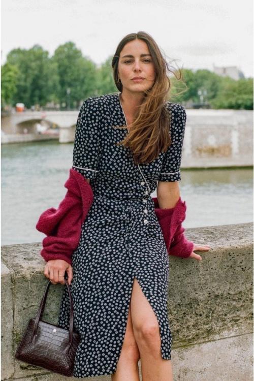Rouje Paris - Robe à imprimée