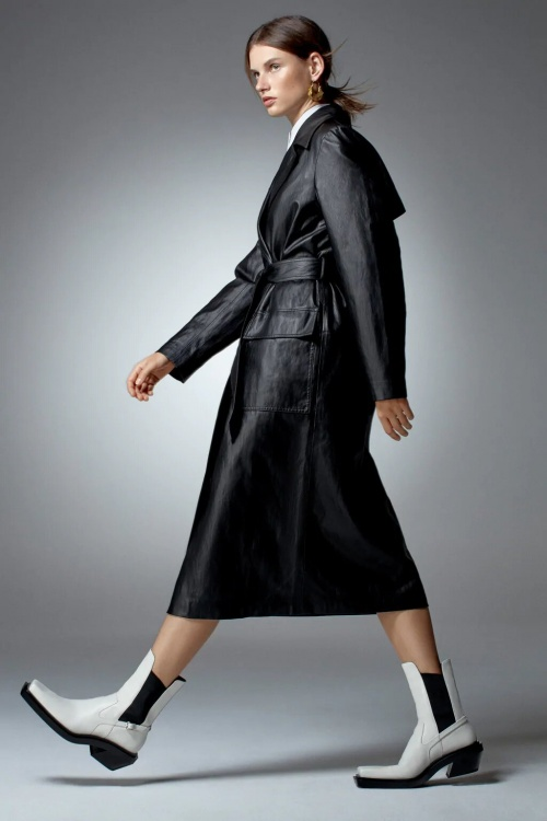 Zara - Trench similicuir