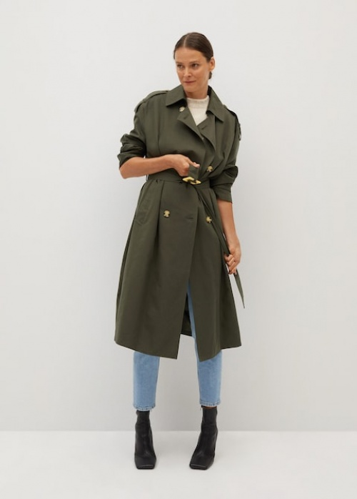 &Other Stories - Trench-coat Kaki