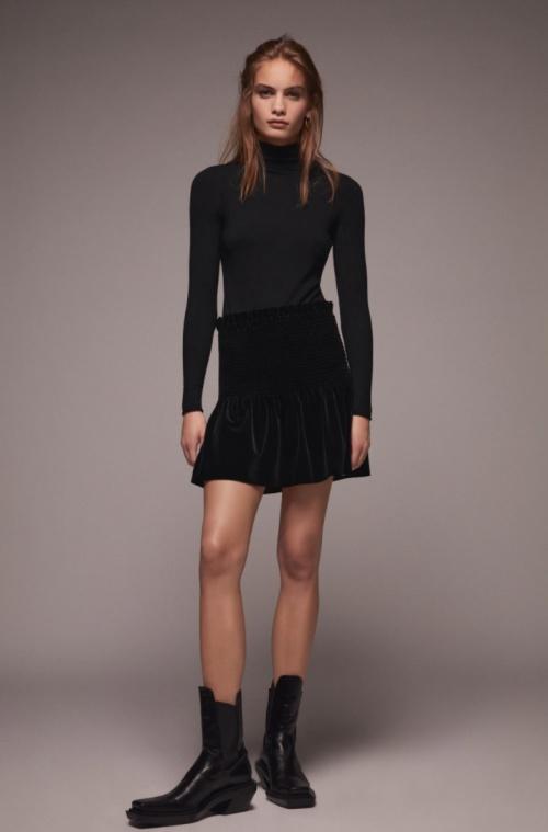 Zara - Jupe en velours