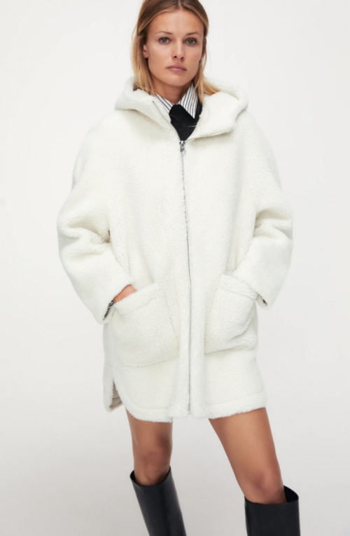 Zara - Veste effet mouton