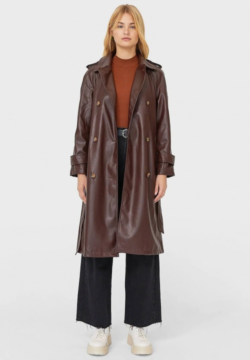 Stradivarius - Trench marron
