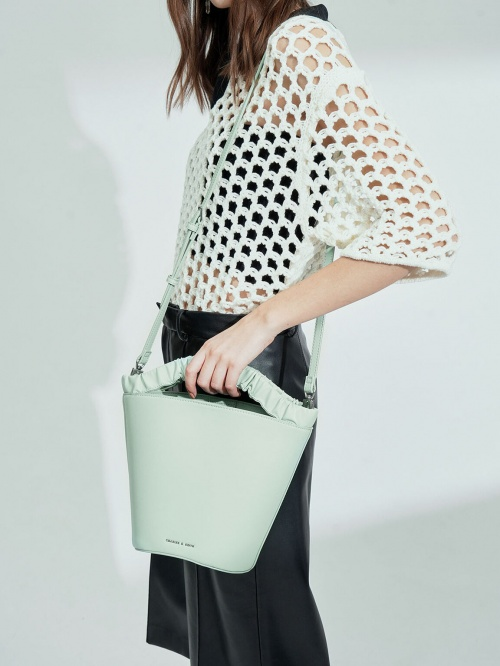 Charles & Keith - Sac couleur menthe