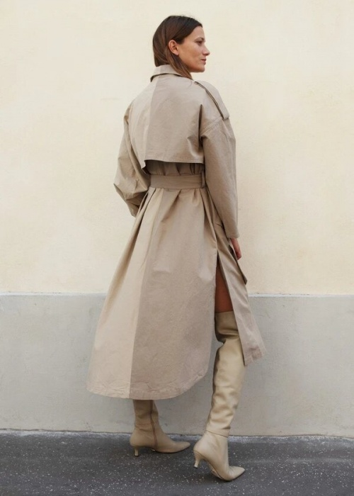 The Frankie Shop - Trench asymétrique