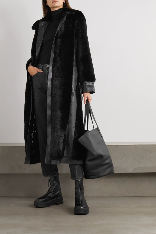 Stella McCartney - Manteau fourrure