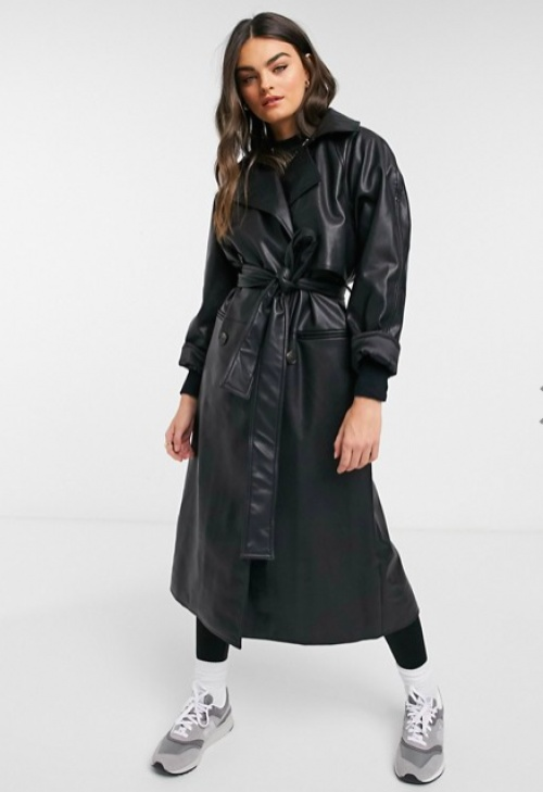 Weekday - Trench imitation cuir