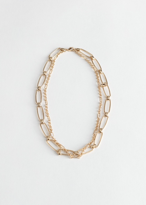 & Other Stories - Collier maillon