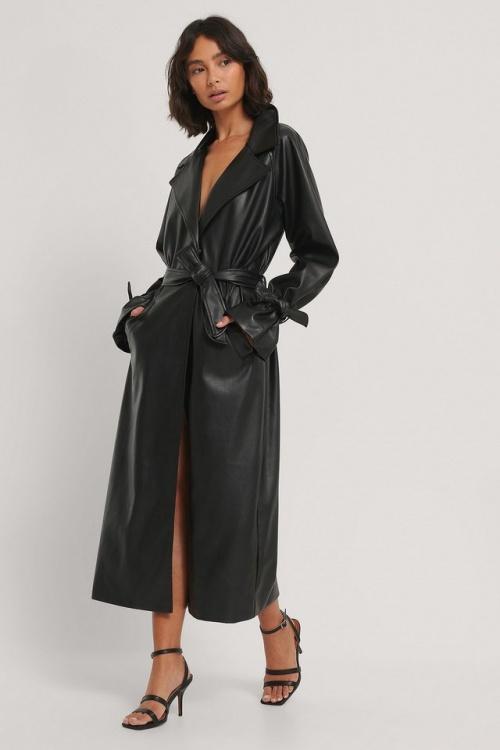 Na-KD - Manteau en faux cuir