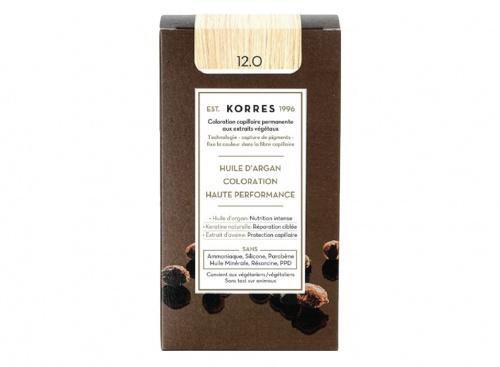 Korres - Coloration permanente huile d'argan