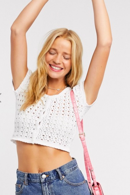 Daisy Street - Crop top au crochet