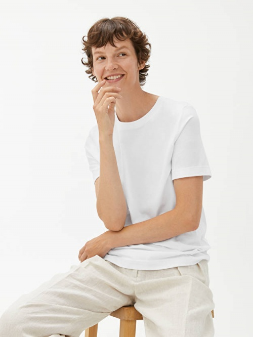 Arket - T-shirt en coton
