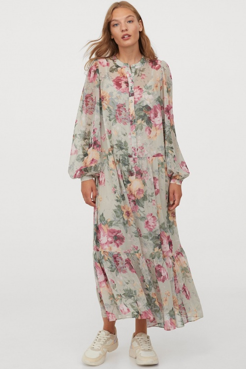 H&M - Robe imprimé fleuri