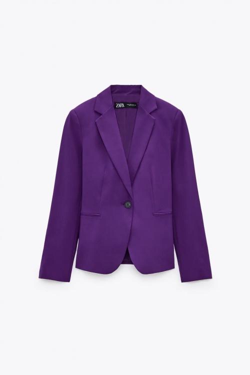 Zara - Blazer violet