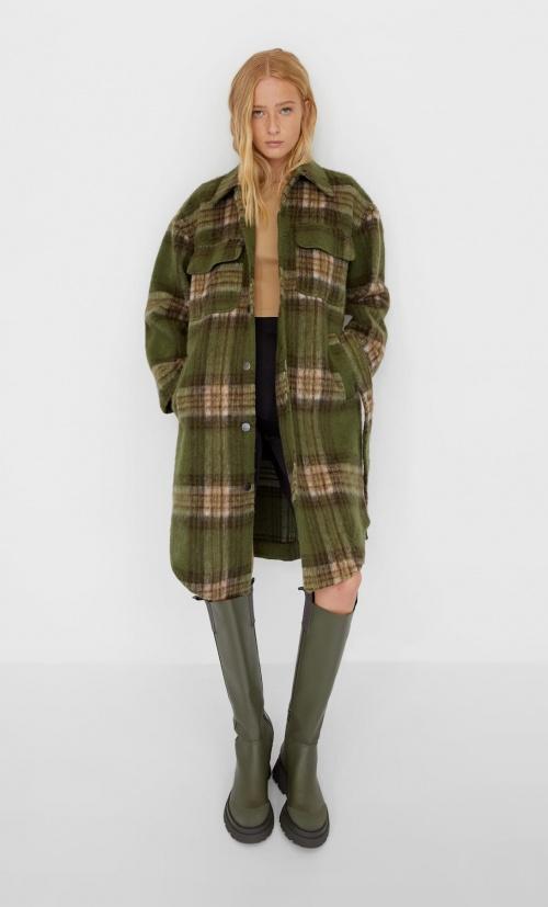 Stradivairus - Manteau à carreaux