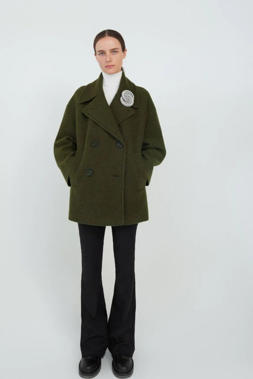 Zara - Manteau en laine oversize