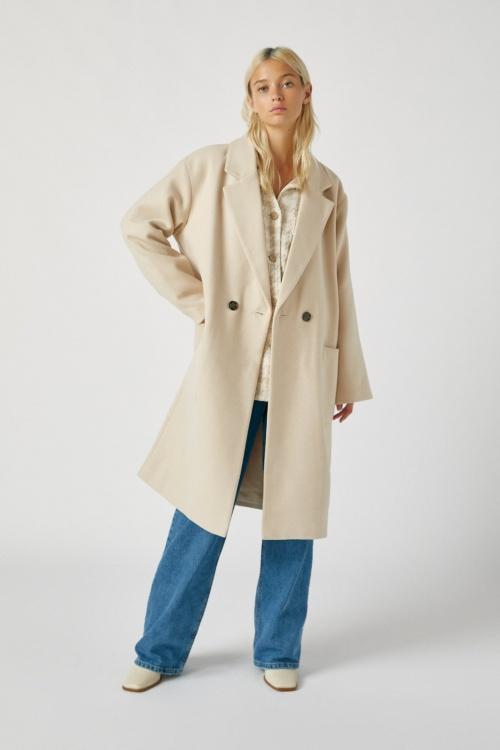 Pull&Bear - Manteau poches plaquées