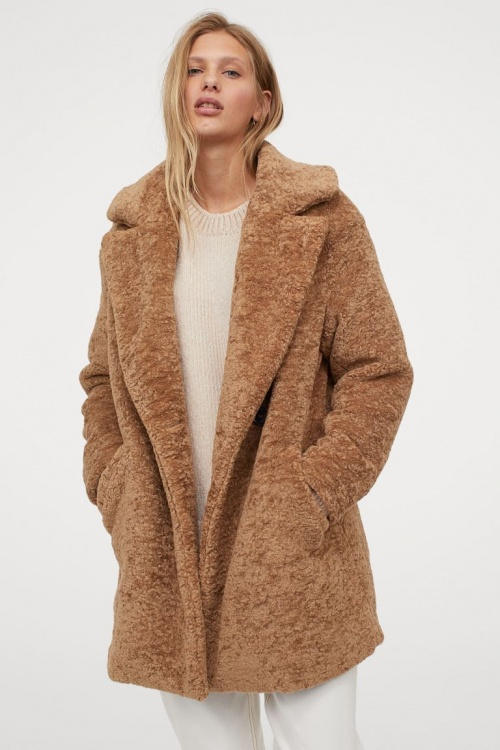 H&M - Manteau teddy bear