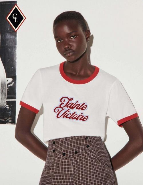 Sandro x Clara Luciani - T-shirt