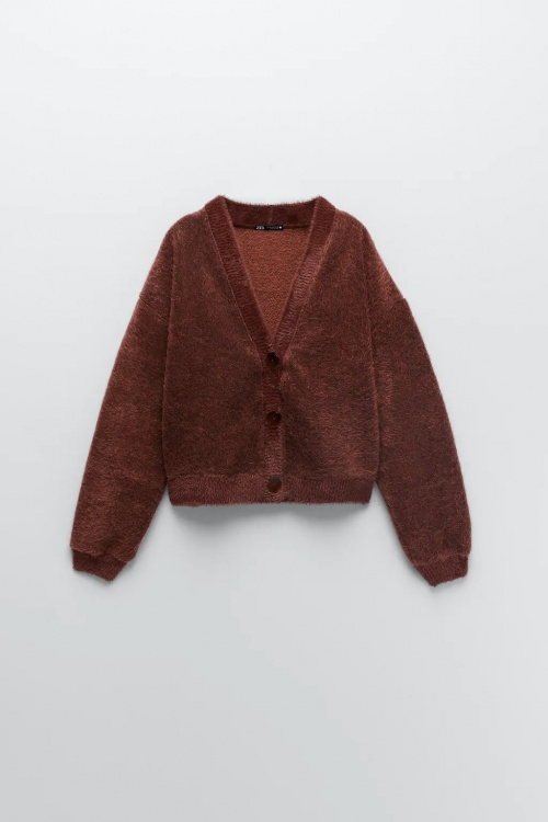 Zara - Cardigan toucher doux