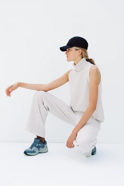 Zara - Top col montant