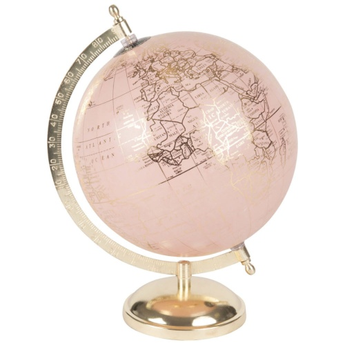 Maison du Monde - Globe terrestre rose