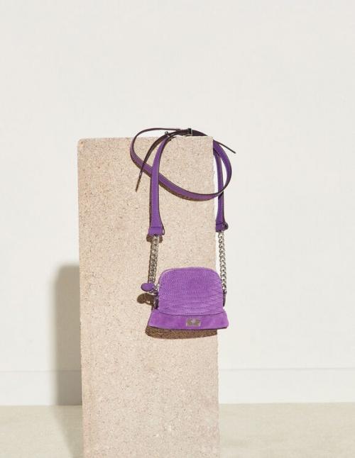 Sandro - Mini sac en cuir