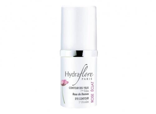 Hydraflore - Contour des Yeux 1ères Rides Rose Eclat Bio