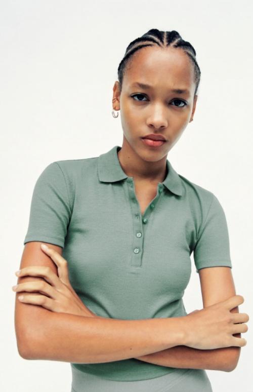Zara - Polo côtelé
