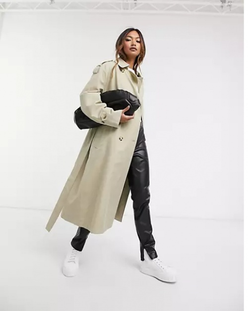 Mango - Trench coat avec ceinture