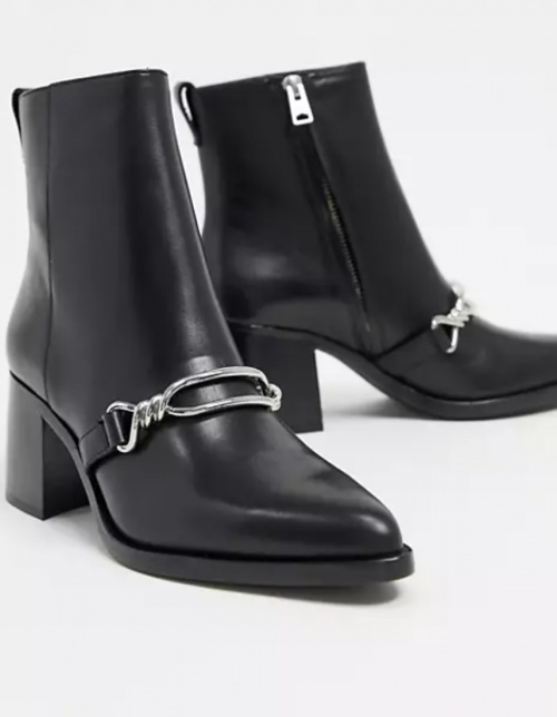 All Saints - Bottines à talons