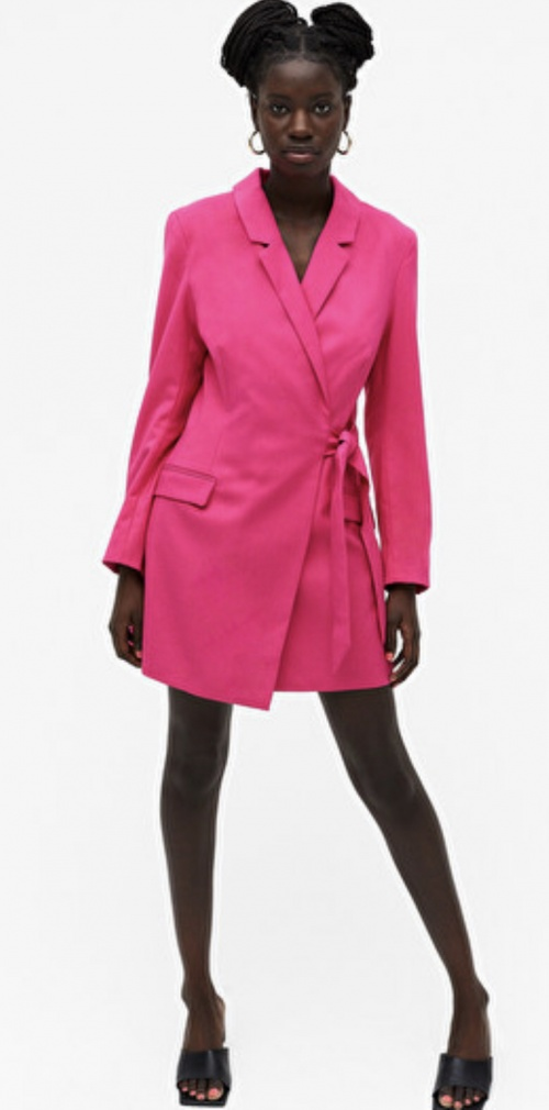MONKI - Blazer mini dress