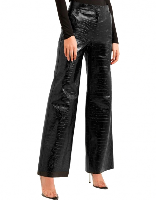 Off-White - Pantalon en vinyle