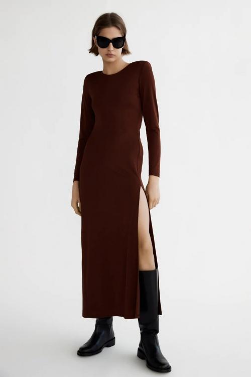 Zara - Robe à épaulettes