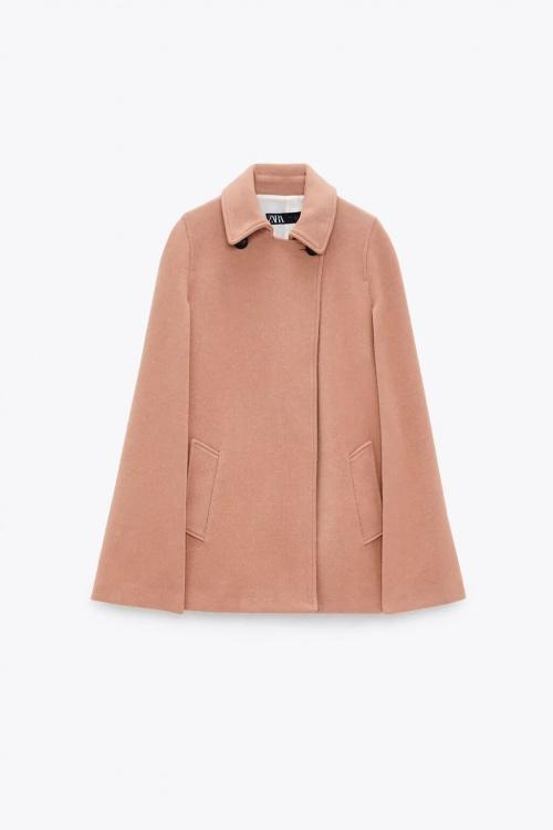 Zara - Manteau style cape