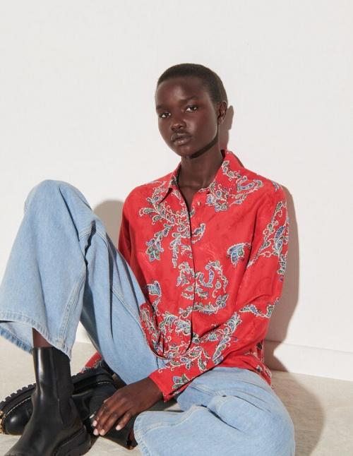 Sandro - Chemise à imprimé