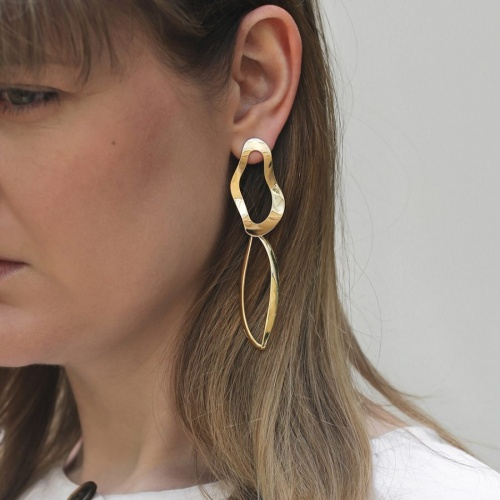 A Weathered Penny - Boucles d'oreilles