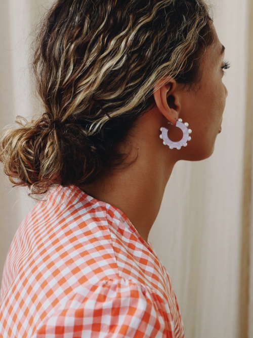 Wolf and Moon - Boucles d'oreilles