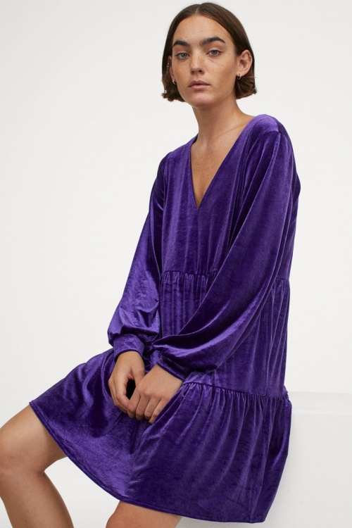 H&M - Robe en velours
